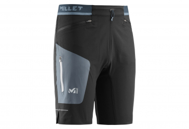 Short Millet Ltk Speed Negro Azul Hombres M