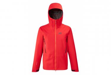 Waterproof Jacket Millet Kamet Light GTX Red Men