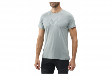 Camiseta Millet Density Wool Grey Hombre L