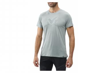 Tee shirt Millet Density Wool Gris Homme