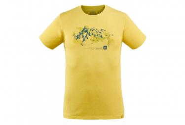 Camiseta Millet Mount Sketch Verde Hombres L