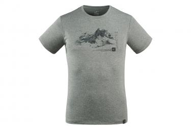 Tee shirt Millet Mount Sketch Gris Homme