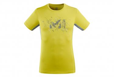 Camiseta Millet LTK Print Verde claro Hombre