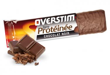 Overstims BAR-proteína Sabor Chocolate negro
