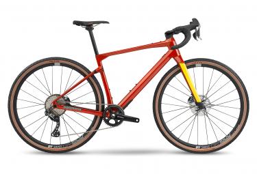 BMC URS Two Gravel Bike Shimano GRX Di2 11S 700 mm Rosso Ambra 2020