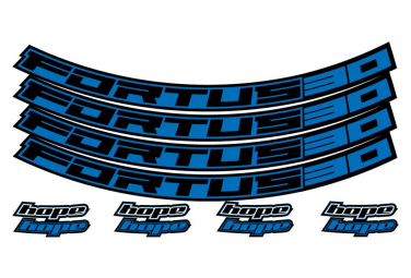 Stickers Roues Hope Fortus 30 Bleu