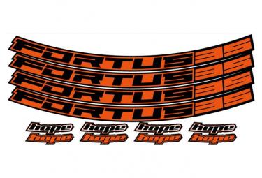 Stickers Roues Hope Fortus 35 Orange