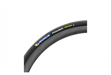 Pneu Route Michelin Power Road 700 mm Tubetype Souple Aramid Protek+ X-Race Compound Noir