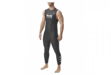TYR Wetsuit Men Category 1 Sleeveless Wetsuit Black