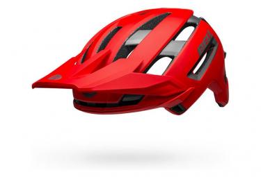 Casco Bell Super Air Mips Rosso / Grigio