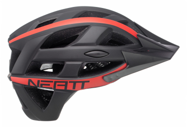 Neatt Basalte Race MTB Helmet Black Red