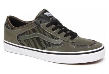 Chaussures Vans UA Rowley Classic Grape Leaf / Zebra / Vert / Beige