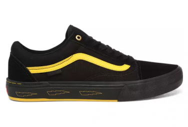 Vans Old Skool Pro BMX Larry Edgar Shoes Black / Yellow