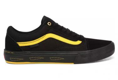 Chaussures Vans Old Skool Pro BMX Larry Edgar Noir / Jaune