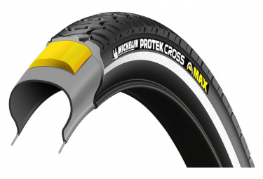 Michelin Protek Cross Max 26'' Urban Tire Tubetype Wire Protek Max E-Bike Ready