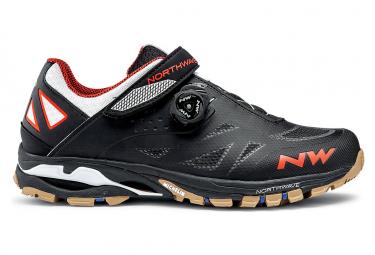 Chaussures VTT Northwave Spider Plus 2 Noir / Orange