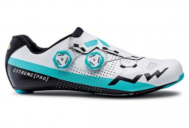 Northwave Extreme Pro Road Schuhe Weiß / Blau