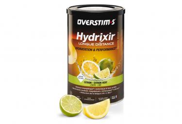 Boisson Énergétique Overstims Hydrixir Longue Distance Citron - Citron vert 600g