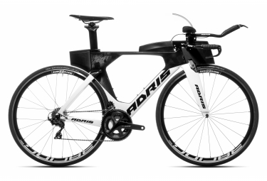 Vélo de triathlon ADRIS SPEEDLINE 9.2 Blanc SOFT