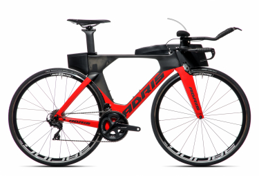 Vélo de triathlon ADRIS SPEEDLINE 9.2 Rouge VISION