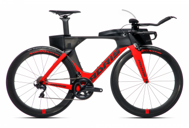 Vélo de triathlon ADRIS SPEEDLINE 9.3 Rouge VISION
