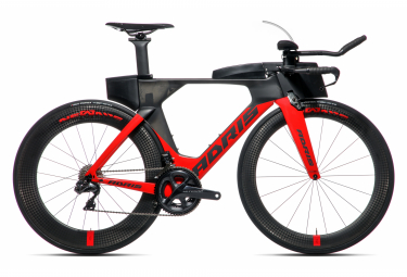 Vélo de triathlon ADRIS SPEEDLINE 9.5 Rouge VISON