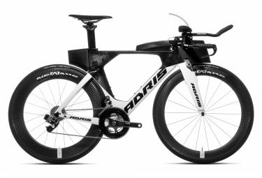 Vélo de triathlon ADRIS SPEEDLINE 9.8 LX Blanc SOFT