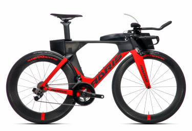 Vélo de triathlon ADRIS SPEEDLINE 9.8 LX Rouge VISION