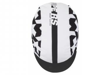 Casquette Assos Equipe RS Blanc Noir Series