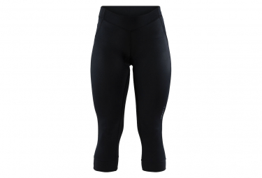Craft Bib Shorts 3/4 Knicker Rise Black Women