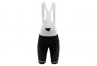 Craft Bib Shorts Hale Black White Men