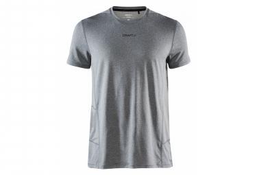 Craft Shorts Sleeve Jersey Essence Grey Hombre M
