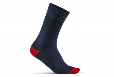 Craft High Socks Training Pack Azul Rojo Unisex 37 39