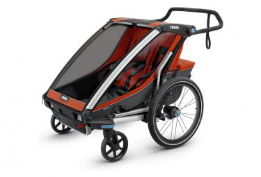 Remorque à Enfant Thule Chariot Cross 2 Orange Gris