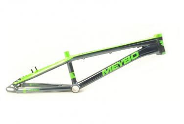 Meybo Holeshot BMX Race Frame Silver / Green 2020