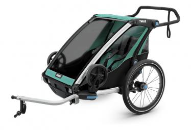 Rimorchio Thule Chariot Lite 2 Blu Erba Nero