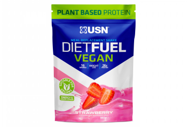 Image of Proteines diet fuel vegan fraise 880g