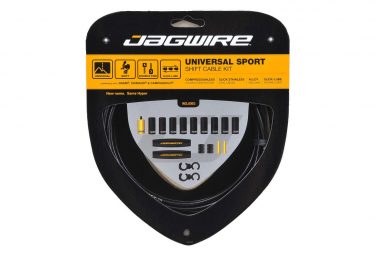 JAGWIRE UNIVERSAL SPORT SHIFT KIT Black