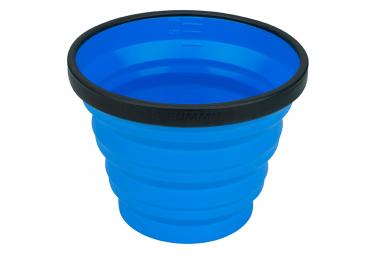 Tazza blu pieghevole X To Sea