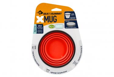 Tasse Sea To Summit X-Mug Pliant Rouge
