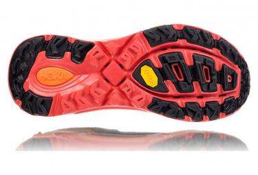 Chaussures de Trail Hoka One One Evo Mafate 2 Orange / Noir