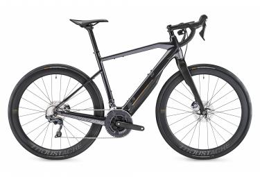 Vélo de Route Électrique Moustache Dimanche 28.7 Shimano Ultegra 11V 500 Wh 700 mm Gris Noir Charbon 2020