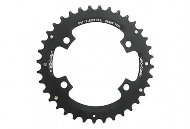Shimano XTR FC-M8000 / SLX FC-M7000 2x11V 4x96mm Black Outer Chainring