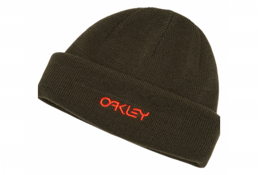 Image of Bonnet oakley b1b logo noir rouge new dark brush