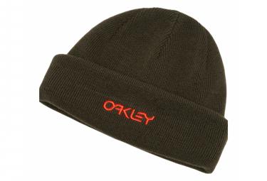 Bonnet Oakley B1B Logo Noir Rouge New Dark Brush