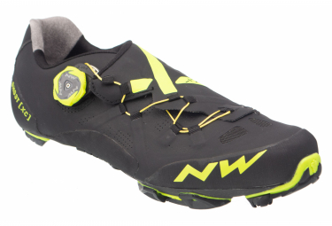 Scarpe MTB Northwave Ghost XC Nere / Gialle