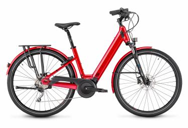 Moustache Bikes Samedi 28.5 Open Womens Hybrid Bike Rouge