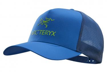 Arcteryx Logo Trucker Cap Blue Unisex