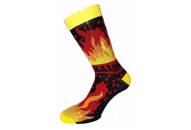 Cinelli Ana Benayora Fire Yellow / Red Socks