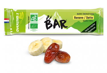 Barre Énergétique Overstims BIO Banane - Dattes
